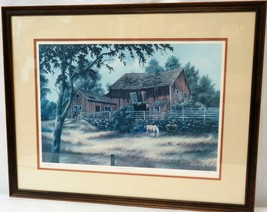 Richard Danskin Limited Edition Print Lithograph Signed, Numbered & Framed  - $247.50