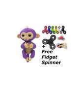 finger purple monkey with free fidget spinner,fingerlings,fidget spinner... - $20.00