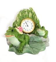 Time Zone Desk Clock (Frogs) - $39.60