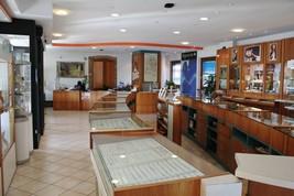 SHAMBALLA BRACELET, GREEN WHITE AGATE & WORKED 925 ROSE STERLING SILVER SPHERES image 2