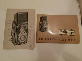 1953 Rolleiflex Automatic Camera Instruction Book / User Guide / Manual - $49.95