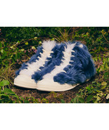 Converse Men's Chuck 70 High Top x AMBUSH Fuzzy Sneaker 170587C Blue - $119.00