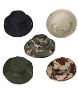 Unisex Sun Hat Bucket Boonie Hunting Fishing Outdoor Cap Wide Brim Milit... - $7.27