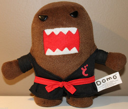 "6.5"" Karate Domo Plush Character Black Gi Martial Arts Nanco - $17.39"