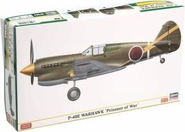 Hasegawa 1/48 P-40E Warhawk Japanese Army Prisoner of war machine Model ... - $38.66