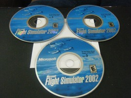 Microsoft Flight Simulator 2002 (PC, 2001) - Discs Only!!! - $9.89