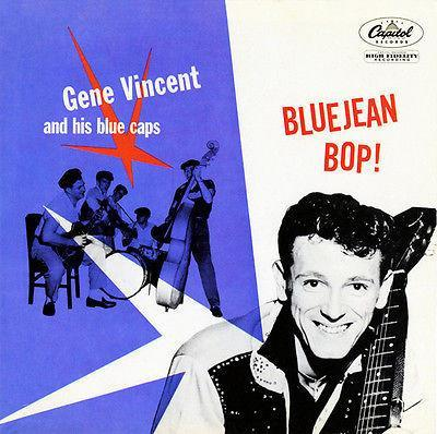 Primary image for Gene Vincent - Bluejean Bop! - 1956 - Album Cover Poster