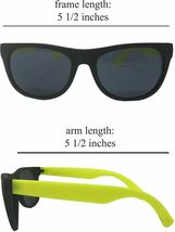 Neon Sunglasses (Pack 12) Assorted Cool Colors Neon Sunglasses Party Favors image 3