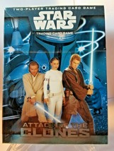 Star Wars Attack of the Clones Two-Player Trading Card Game New, Sealed in Box - $6.76