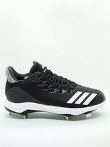 Adidas Men's Icon Bounce Low Metal Baseball Cleats Black CG5241 Size 10 US NWT - $32.45