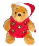 Disney Exclusive Holiday Pooh 2002 with Magical Lights and Music Plush  - $59.99