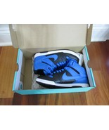 BNIB Nike Mogan Mid 2 Jr. Youth Boys' Mid-Top Skate Shoes, Photo Blue/bl... - $51.43+