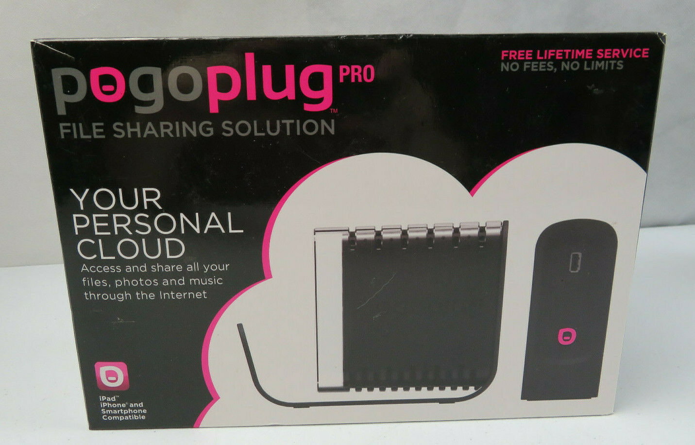 Primary image for Pogoplug Pro Personal Cloud Device File Sharing Solution New in Box