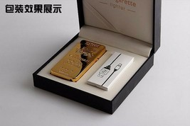 Gold Lion Creative Windproof USB Charging Pulse Arc Lighter - One Lighter w/box image 2