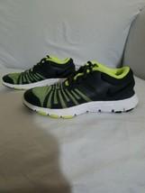 Nike Flex Show TR 5 Running Shoes 1Y Youth Boys or Girls Grey & Green 84... - $24.74