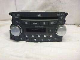 04 05 06 Acura TL Radio 6 Cd Cassette DVD & Theft Code 1TB2 39100-SEP-A4... - $64.35