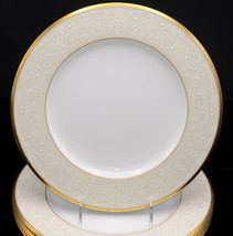 Noritake White Palace * 4 DINNER PLATES * Excellent Condition! - $79.99