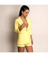 ITCQUALITY WOMEN 2 PIECE SET LONG SLEEVE BLAZER JACKET AND TROUSERS SUIT... - $115.00