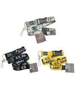 """Official Licensed Products Military """"U.S.Army"""" Key Chain Ring Clip Lanyard - $9.99"""