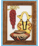 Counted Cross Stitch Southwest Native American Indian Pottery Candamar K... - $14.99
