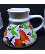 Vtg Hummingbird Otagiri Travel Coffee Tea Mug Cup Non Slip art by Tom Tr... - $33.66