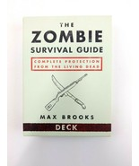 The Zombie Survival Guide Card Deck Max Brooks Flash Cards - $9.74