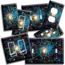 BIG BANG UNIVERSE ATOMS SPACE SCIENCE LIGHT SWITCH OUTLET WALL PLATES RO... - $8.99+
