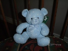 Russ Berrie Baby Bear with Rattle ~ Dots ~ # 21859 - $88.88