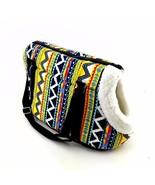 Dog Carrier Pet Backpack Colorful Striped Warm Shoulder Strap Bag  - $19.98+