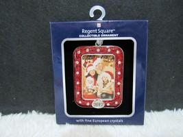 2017 Regent Square Collectible Rectangular Ornament with Fine European C... - $9.95
