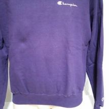 VTG Champion Sweatshirt Embroidered Spell Out Jumper USA Sport 90s Crew Neck XL image 7