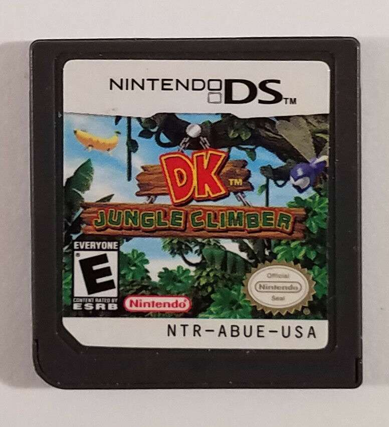DK: Jungle Climber Nintendo DS Game 2007 Cartridge Only