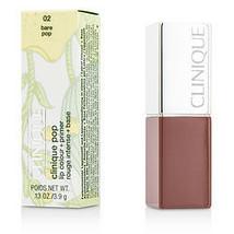 Clinique By Clinique Clinique Pop Lip Colour + Primer - # 02 Bare Pop --3.9G/0.1 - $35.00