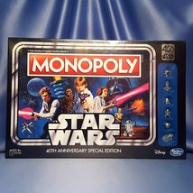 Star Wars 40th Anniversary Special Edition Monopoly Game. - $42.00