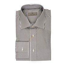 Canali Classic Modern Fit Long Sleeve Casual Dress Shirt NEW Size 15.5 C... - £55.70 GBP