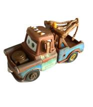 "Disney Pixar Cars Supercharged Tow Mater Diecast Mattel 3.25"" Truck #DC022 - $11.87"