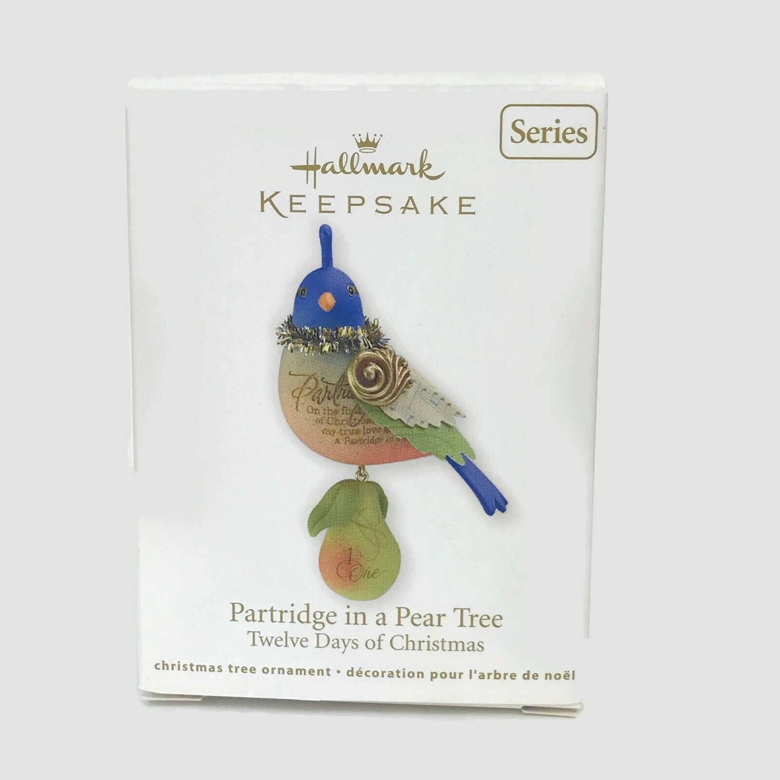 Primary image for 2011 Hallmark Partridge In A Pear Tree 1st First In Series Ornament New 4601-05