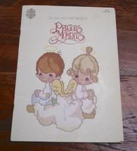Vintage 1980 Gloria & Pat Precious Moments PM-1 Counted Thread Cross Stitch Book - $12.79