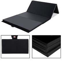 Sportmad 4'x8'x2/4'x10'x2 Thick Folding Panel Gymnastics Tumbling Mat fo... - $89.98
