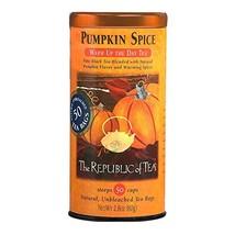 REPUBLIC OF TEA Pumpkin Spice, 50 CT - $29.89