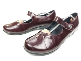 DANSKO Black Cherry Patent Leather OPAL Mary Jane Clogs Shoes size 42 US... - $44.95