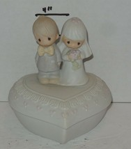 1981 Precious Moments Enesco The Lord Bless You And Keep You #E-7167 HTF... - $49.50