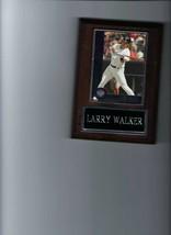 Larry Walker Plaque Baseball Colorado Rockies Mlb C - $0.98