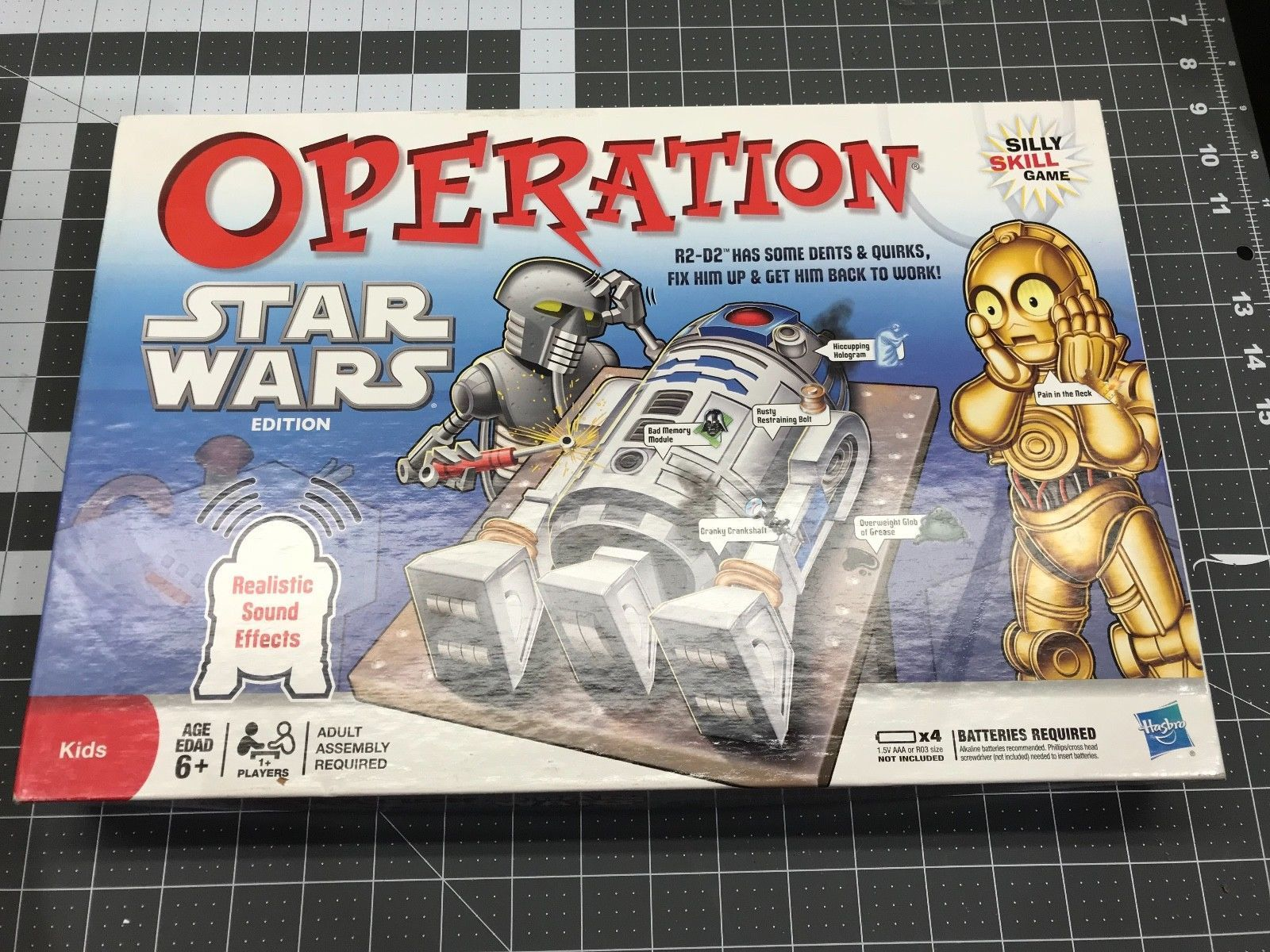 Operation Star Wars Edition R2-D2 Realistic and 26 similar items