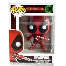 Funko Pop! Marvel Christmas Holiday Deadpool Candy Canes #400 Vinyl Bobb... - $15.14