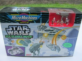 1993 Star Wars ESB MicroMachines Ice Planet Hoth Playset New Galoob - $140.25