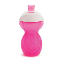 Munchkin Click Lock Chew Proof Sippy Cup 284ml Pink - $24.76