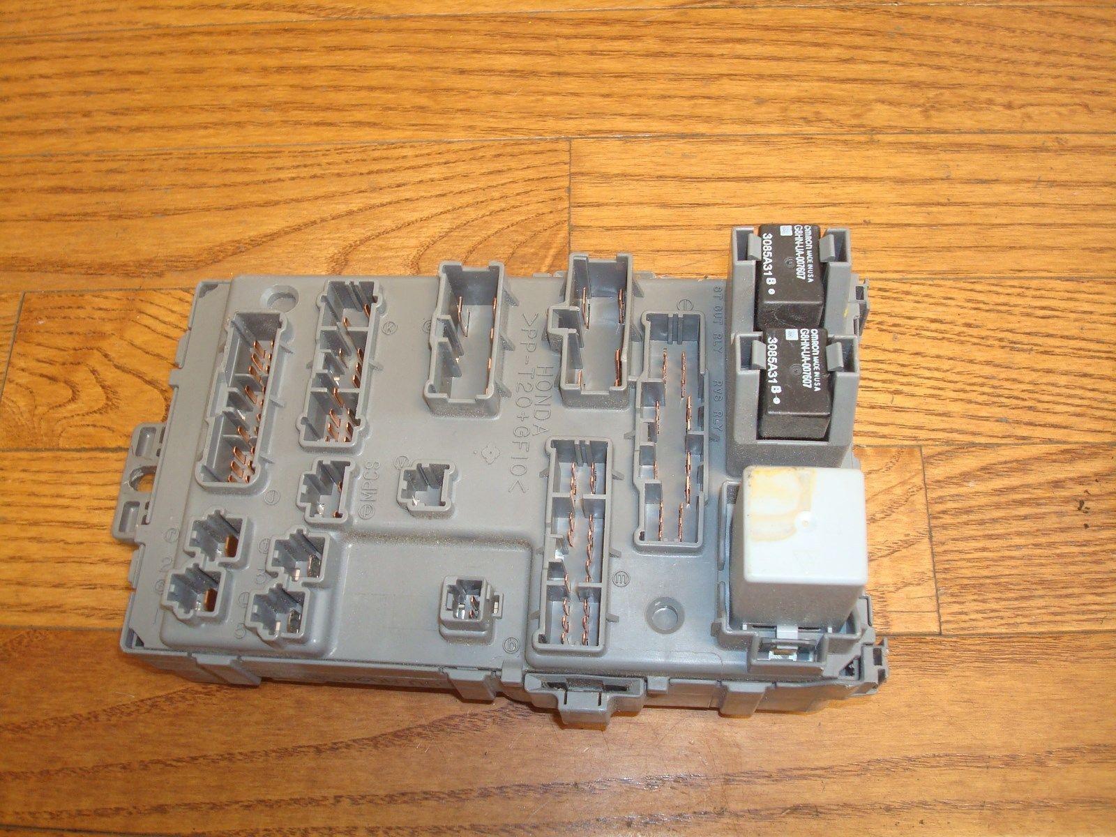 2006 2008 Honda Pilot Oem Left Front Fuse And 27 Similar Items Box W Multiplex Network Control Module