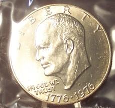1976-D Var 2 BU Eisenhower Dollar MS64 In the Cello #387 - £9.48 GBP