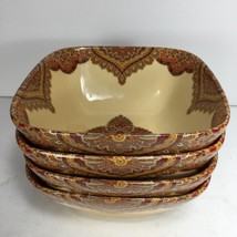 222 FIFTH SPICE ROAD Cereal // Soup  BOWLS  ((SET OF 4)) - EXCELLENT CON... - $39.59